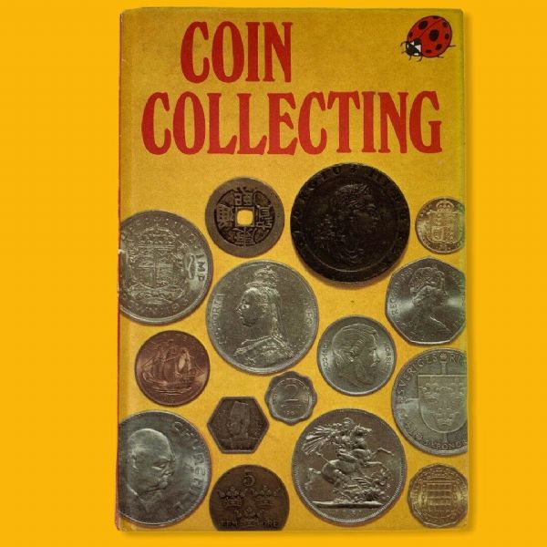 Ladybird Book COIN COLLECTING Series 633  Matt Hardback 24p Net 1976 1st Edition